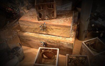 Escape room mobilny Magiczna skrzynia